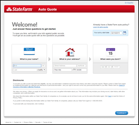 State Farm Online Quote Best State Farm Online Quote Amusing State Farm Online Car Insurance
